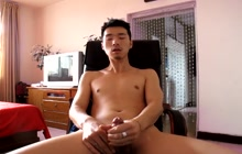 Amateur Asian cumming 3 times