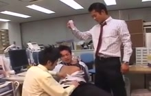 Asian office fuckers
