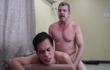 Daddy loves to fuck Asian guys